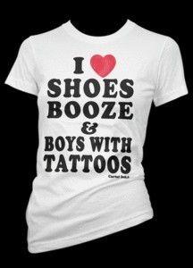 Boys with tattoos. <3