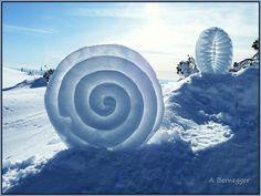 Créations en neige Alain Bernegger