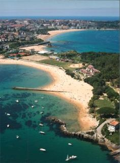 Playa de los bikinis #Santander #Cantabria #Spain #Travel