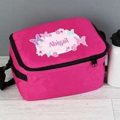 Personalised Lunch Bag - Butterfly