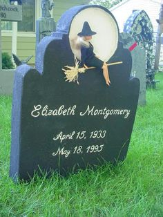 """Grave Marker- Elizabeth Montgomery of """"Bewitched"""" Cemetery Monuments, Cemetery Statues, Cemetery Headstones, Old Cemeteries, Cemetery Art, Graveyards, Elizabeth Montgomery, Dark Side, Unusual Headstones"""