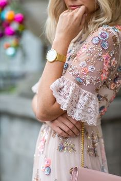 Haute couture street style shared by Franzi on We Heart It Pretty Dresses, Beautiful Dresses, Gorgeous Dress, Pretty Clothes, Look Boho, Looks Street Style, Mode Outfits, Dress Outfits, Inspired Outfits