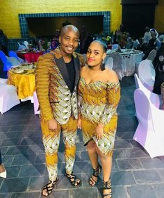 "Thabo Maserumule on Instagram: ""Happy clients by Thunderstorm Designs"" African Attire, African Fashion Dresses, African Dress, Thunderstorms, Ankara Styles, Weeding, Traditional Wedding, News Design, Villa"