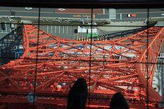 Look down window-Tokyo Tower http://www.ana-cooljapan.com/tokyo/photo/