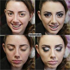 anets e depois de maquiagem famoso - carline - tudo make - maquiadora curitiba 02
