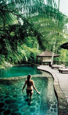 Bali Como Shambhala Estate ~ spa & rejuvenation retreat near in Bali >>> OMG. Please take me here now.