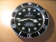Rolex wall clock 2015 completely new in box Clock Pinterest