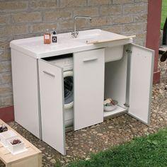 lavatrice mobile lavabo da lavatoio mobile vano lavatrice sinistro 124x610