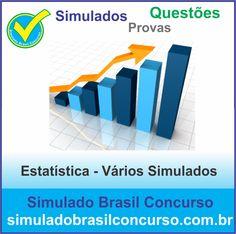 Novos Simulados e Questões de Estatística 2014.  http://simuladobrasilconcurso.com.br/simulados/concursos/?filtro_materia=93  #SimuladoBrasilConcurso, #ProvaEstatistica