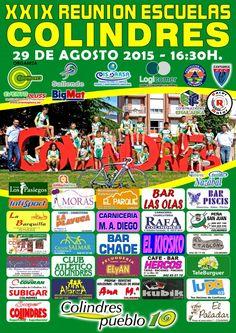 XXIX REUNION ESCUELAS COLINDRES 2015 organizado por CC COLINDRES 29-08-2015