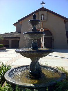 Nice Courtyard Water Fountain