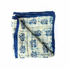 Shop now for indigo block printed quilts and other home textiles from ichcha. Ichcha works with artisans from India to preserve and promote the arts and crafts.