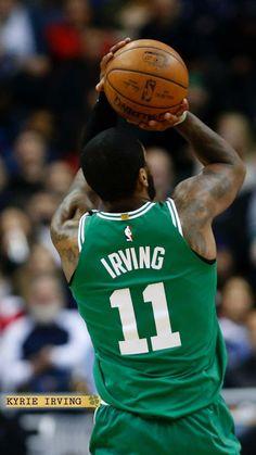 save off 1decf 9a8f4 KYRIE IRVING WALLPAPER  interestingsportsmemes Kyrie Irving Logo Wallpaper, Kyrie  Irving Celtics, Basketball Stuff