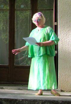 Brenda as Titania in MSN'sD France, June 2012