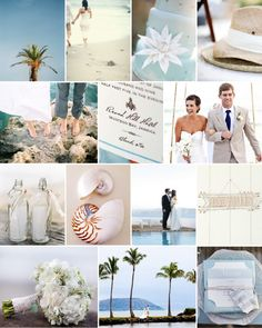 dusty blue and white beach wedding inspiration board. Phuket Wedding, Thailand Wedding, Hawaii Wedding, Destination Wedding, Wedding Themes, Wedding Colors, Wedding Ideas, Second Weddings, Beach Weddings