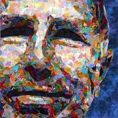 Jo-Ann Golenia - portrait quilts