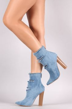 f5c3323190d Shoe Republic LA Frayed Slit Booties · Fashion OutfitsFashion ShoesWomens  FashionTrendy OutfitsShoes Heels ...