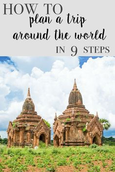 9 Steps to Plan Your Year Long RTW (Round the World) Trip! How to travel around the world with your family. Follow along on our journey at cashcortez.com!