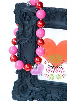 Girls Chunky Bead Necklaces Just in Time For by SweetMMs on Etsy, $18.00