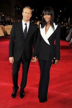 Naomi Campbell in Alexander McQueen Cruise 2013 @ the world premiere of Skyfall in London