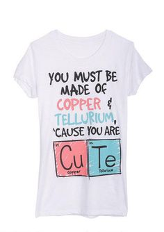 Cute Periodic Table Tee - View All Sale - Sale - dELiA*s