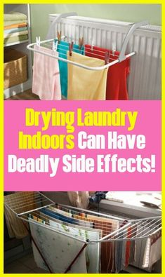 Indoor Drying Laundry Can Do Deadly Side Effects! Water For Health, Lung Infection, Wellness Fitness, Health Fitness, Way Of Life, Health Coach, Side Effects, Get Healthy, Healthy Habits