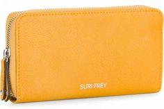 !!!Suri Frey Damengeldtasche Terry Yellow Zipper gelb Suri Frey, Zip Around Wallet, Zipper, Yellow, Artificial Leather, Dime Bags, Gold
