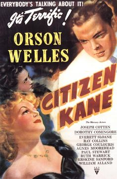 citizen cane, one of the best movies of all time
