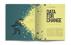 What if Google had a magazine? They do! Plenty of spreads to check out at the link. As expected, they have beautiful illustrations and infographics.