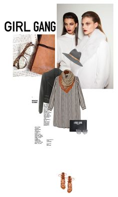 """""""Girl Gang"""" by browneyez ❤ liked on Polyvore featuring rag & bone, Monki, Schutz, Givenchy, STELLA McCARTNEY, women's clothing, women, female, woman and misses"""