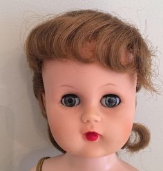 Doll, Ballerina, Valentine, Vintage, 1950s, Original Dress, Walker Doll, Dancer, Restored Doll, Aida, Capezio, Ballet, Dance, Pink Ballerina by AtelierMandaline on Etsy https://www.etsy.com/listing/518774725/doll-ballerina-valentine-vintage-1950s