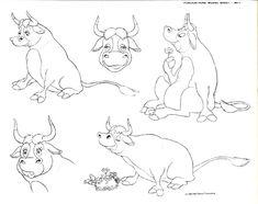 Disney – Ferdinand The Bull Model Sheets | Blah Blah Blah 2.0
