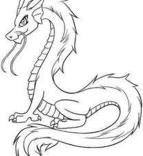dragon coloring pages - Google Search