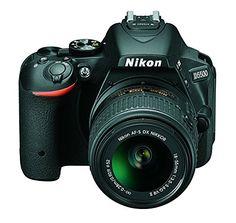 Nikon D5500 - Cámara digital Reflex de 24.2 MP, color negro: NIKON: Amazon.es: Electrónica