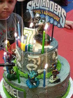 Danny's skylander birthday cake