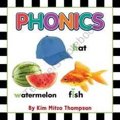 Phonics Photographic Workbook from Kim Mitzo Thompson on TeachersNotebook.com (43 pages)  - This workbook not only teaches your students basic phonics, but uses real-life photographs to reinforce what is learned inside the classroom to animals and objects outside of the classroom.