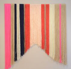Yarn Hanging Backdrop, Yarn Banner, Yarn Garland for All Occasions, Photo Shoot Backdrop, Event Backdrop, Home Décor - inspiration