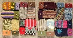Recycled Sweater Mittens, winter wear, cute gift idea