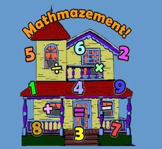 Quick! If you had to make a 32 using your addition, subtraction, multiplication and division skills and the numbers 2, 5, 6, 8 & 9 could you do it? This concept is the essence of Mathmazement, an online Flash game where you explore a 100 room house to find and store eight toys in one of three toyboxes. Did you get 6x5+2? How about 8x(6-2)? As you explore the house you gain points by visiting rooms, collecting toys, and solving math problems. Secret rooms and sound effects add to the fun…
