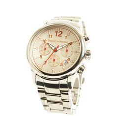 dooney+and+bourke+watches | Orange accent Dooney & Bourke watch.