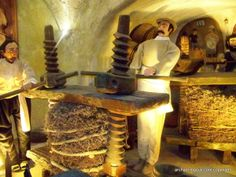 This museum is underground---great for the whole family. See ancient #wine production techniques. #Greece #Vacations. Our Archaeologous.com clients love this place