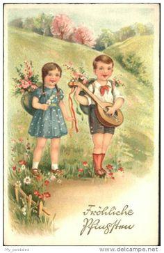 Postcards > Topics > Holidays & Celebrations > Pentecost - Delcampe.net