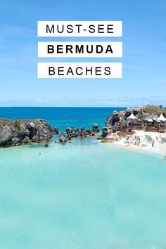 Bermuda Travel Guide: What To See + Do - Stephanie White Travels Bermuda Vacations, Bermuda Travel, Bermuda Beaches, Vacation Destinations, Vacation Trips, Vacation Spots, Vacation Ideas, Beaches In The World, Places Around The World
