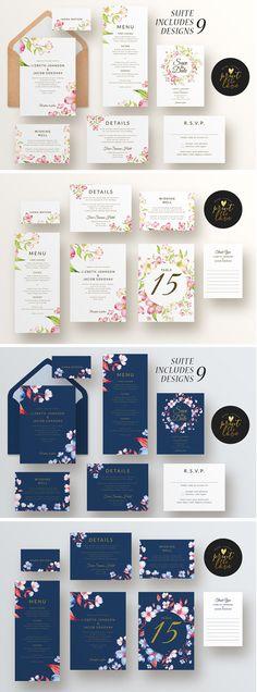 Wedding Invitation Suite - Lizbeth