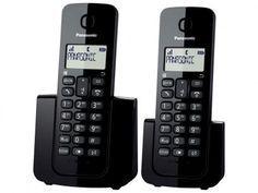 Telefone Sem Fio Panasonic + Ramal - Ident. de Chamadas Agenda Telefônica…