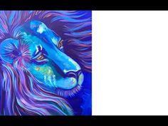 theartsherpa - HI I'm the Art Sherpa, I Teach acrylic painting tutorials to beginning artists. You can Paint ! With over 600 Acrylic Painting videos tutoria. Acrylic Painting For Beginners, Simple Acrylic Paintings, Beginner Painting, Acrylic Art, Lion Painting, Peacock Painting, Acrylic Painting Tutorials, Painting Videos, The Art Sherpa