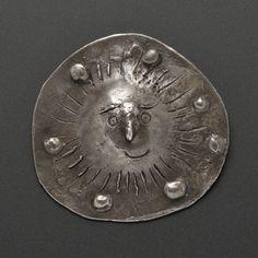 "Silver ""Sun"" Pendant by Pablo Picasso / Carole Mallory Collection"