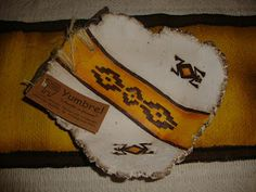 YUMBREL artesanias: Cuencos realizados en Pasta Piedra