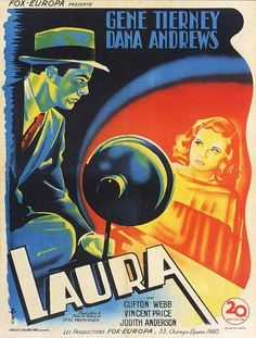 French LAURA poster
