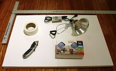 Do it yourself lightbox